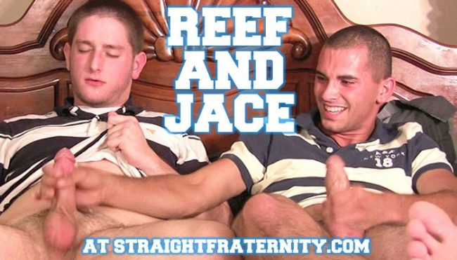Reef and Jace from Straight Fraternity